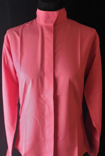Coolmax Wrap Collar Hunt Shirt - Salmon