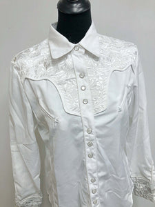 White Scully Western Shirt