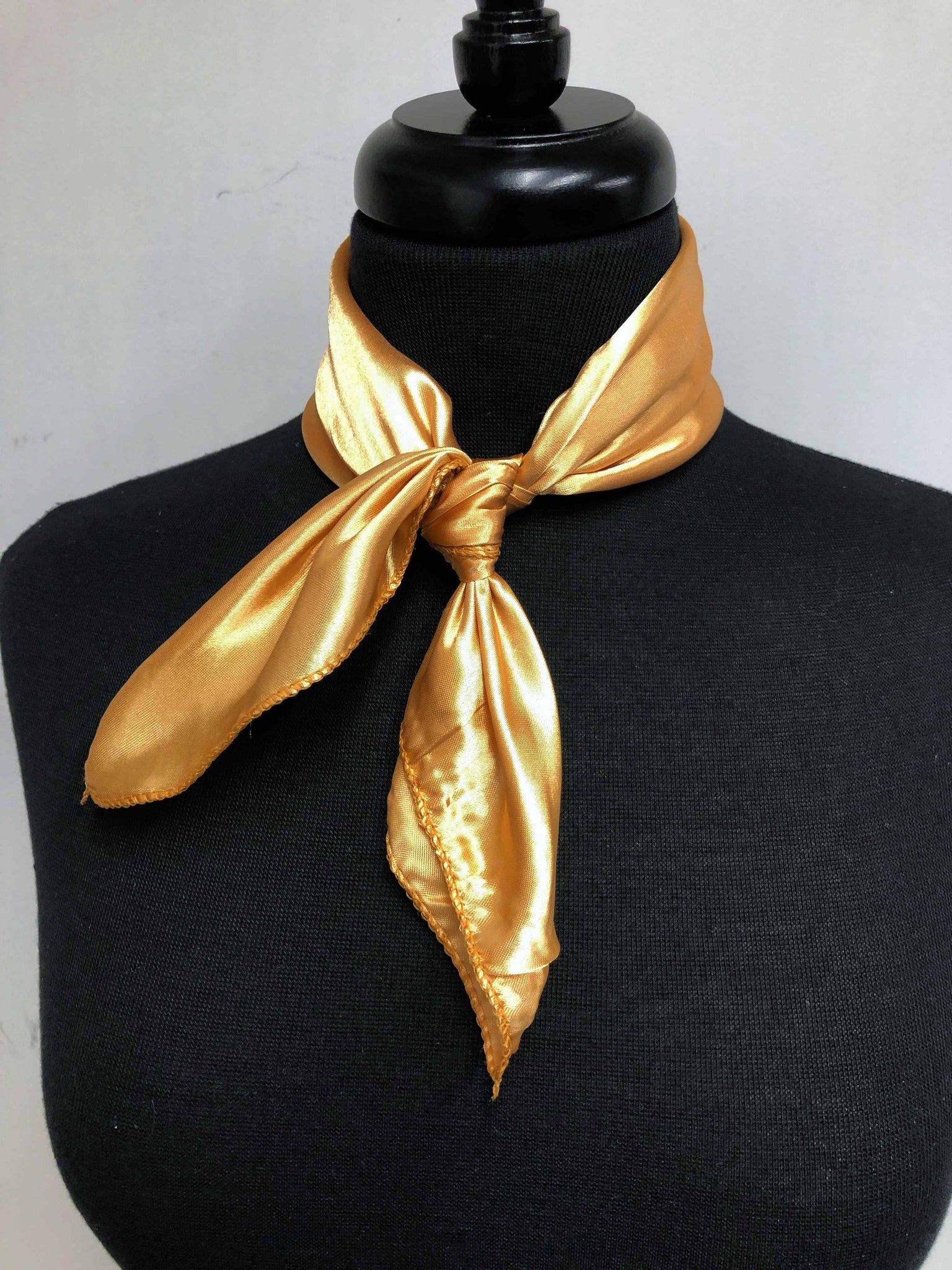 Solid Gold Scarf