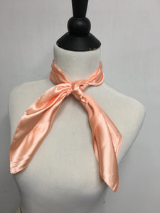 Peach Solid Scarf