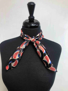 Black, Red & Blue Scarf