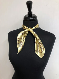 Tan Chain Scarf