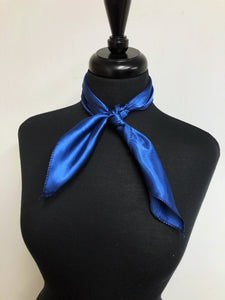 Solid Navy Blue Scarf