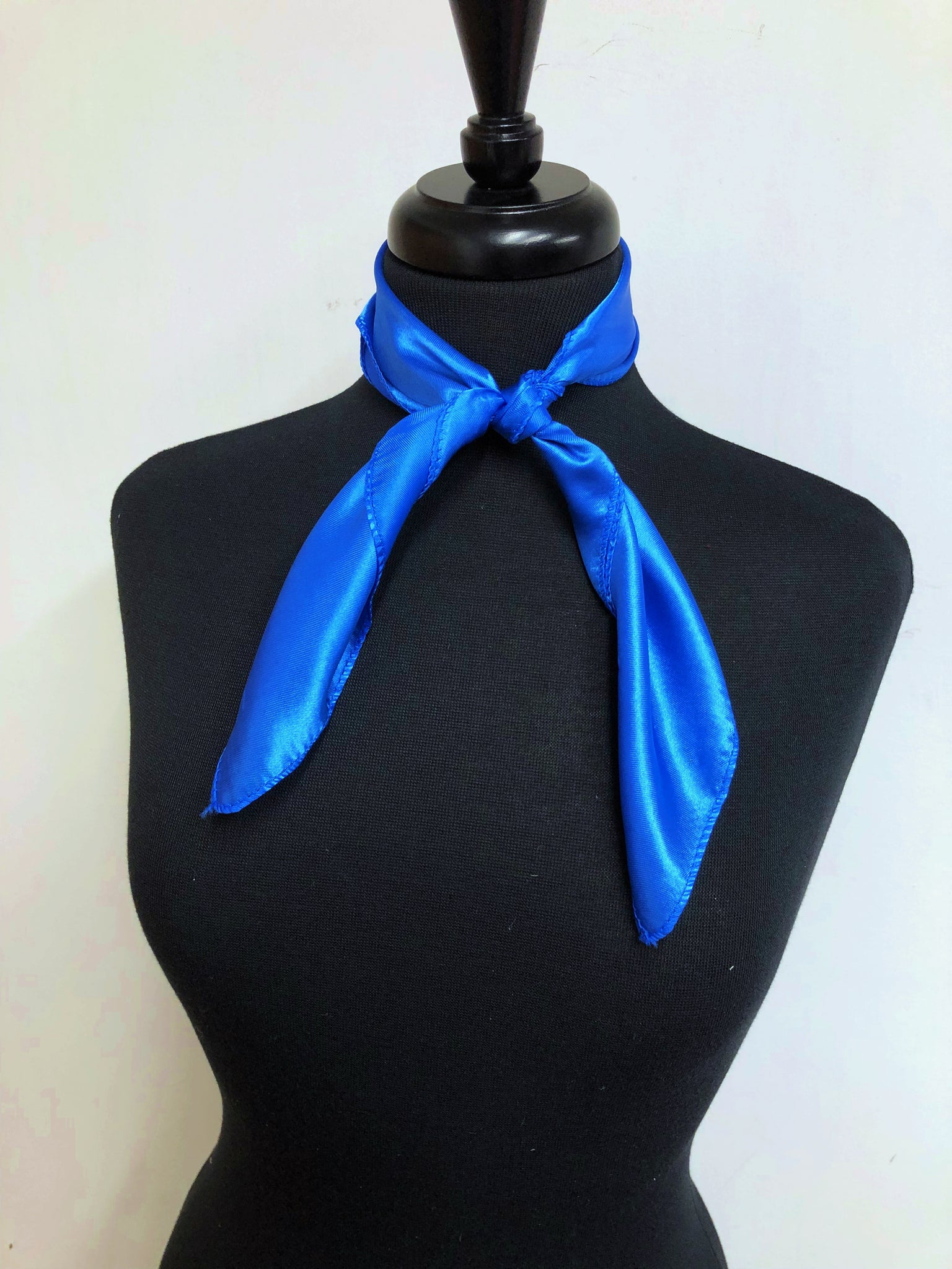 Solid Royal Blue Scarf