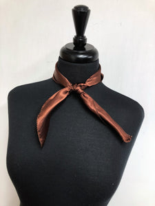 Solid Brown Scarf