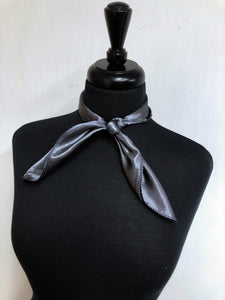 Solid Charcoal Scarf