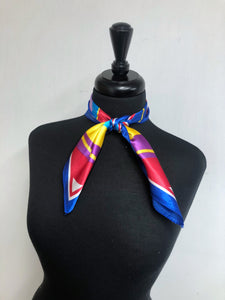 Royal Trim Colorful Scarf