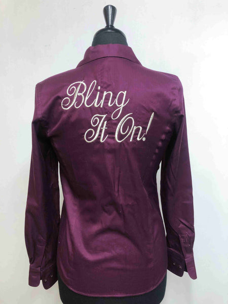 "Plum ""Bling It On"" Shirt"
