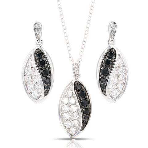 Montana Silversmiths Budding Lily Jewelry Set