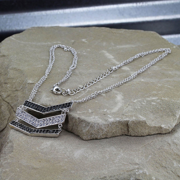 Montana Silversmiths Chevron Suspension Necklace