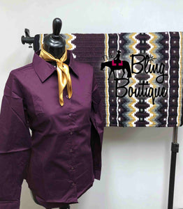 Plum, Grey & Gold Pad Set (Multiple Colors & Sizes Available)