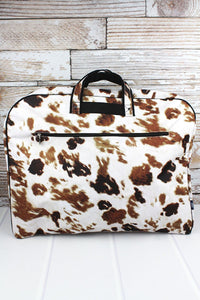 Cow Print Garment Bag