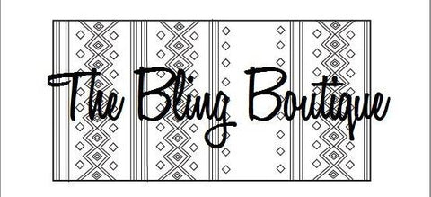 Custom Bling Boutique Show Pad - Design #5