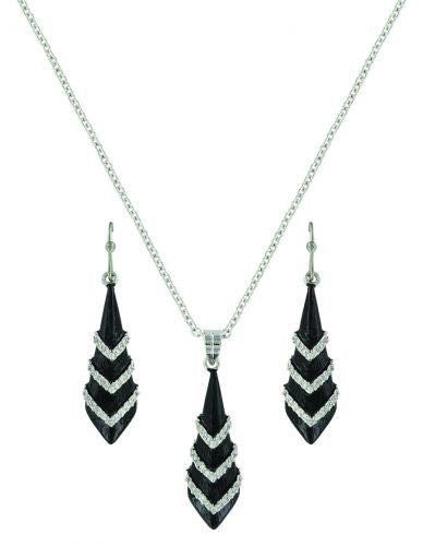 Montana Silversmiths Wrapped in the Night Jewelry Set