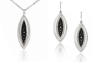Montana Silversmiths Long Black Stingray Set