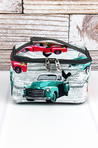 Farm Truck Print Cosmetic Case
