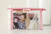 Style Your Own Photo Make Up Bag - Silver