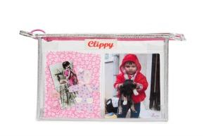 photo make up bag clippy personalised bag