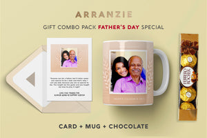 "Father's Day Gift ""INSERT YOUR OWN PICTURE"" - Combo Pack"