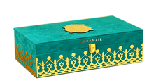 Load image into Gallery viewer, Turquoise royal mesmerizing theme wedding boxed invitation with sweet jars