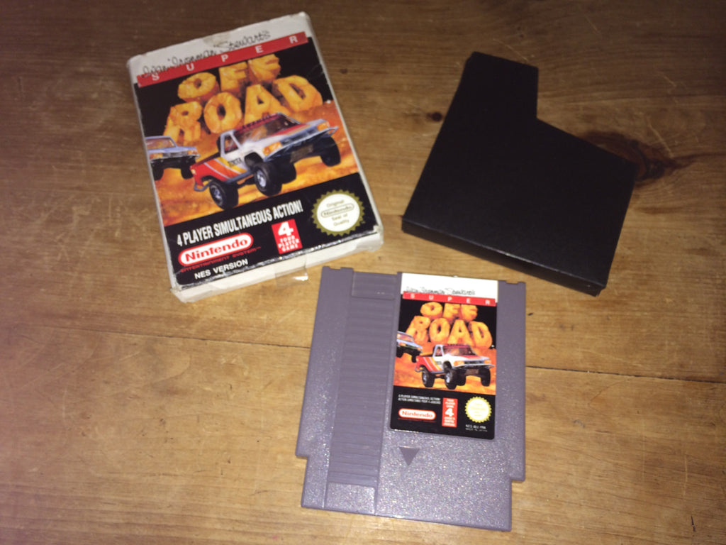 Ivan 'Ironman' Stewart's Super Off Road (NES)