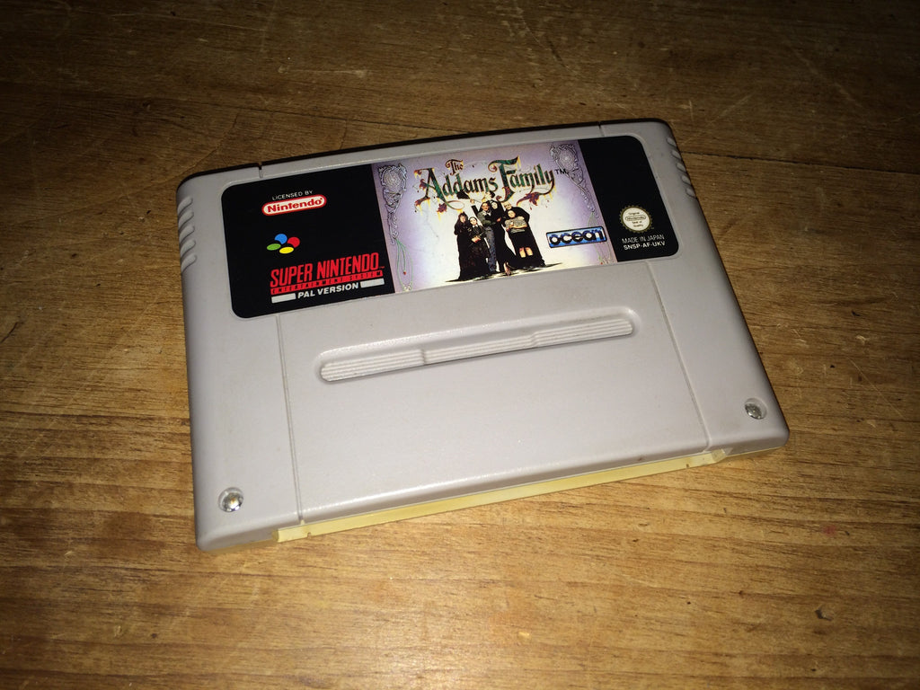 The Addams Family (SNES)