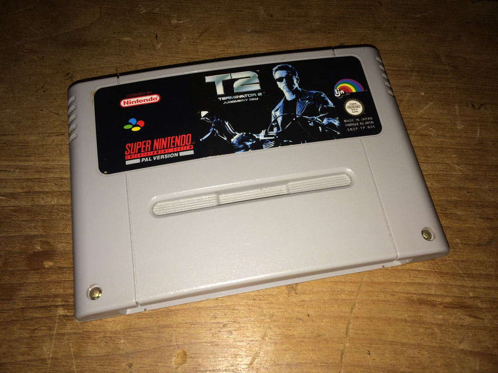 Terminator 2 (T2): Judgement Day (SNES)