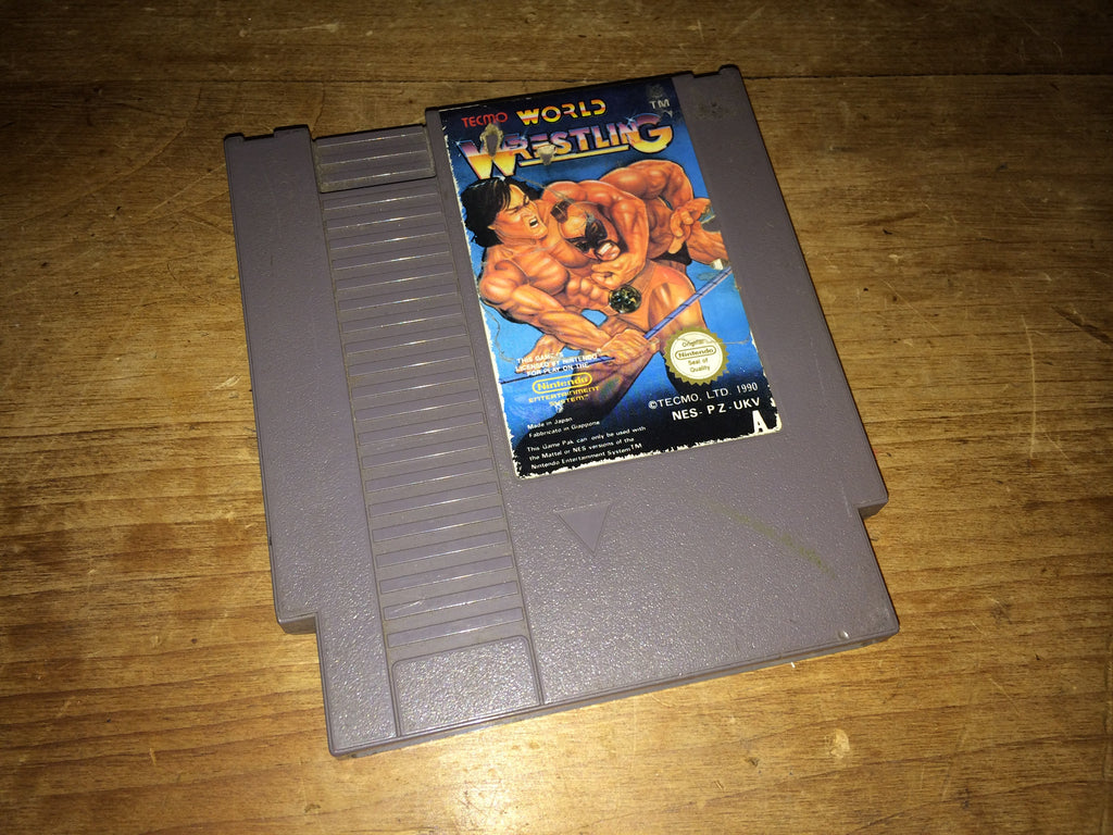 Tecmo World Wrestling (NES)