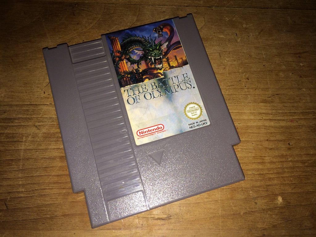 The Battle of Olympus (NES)