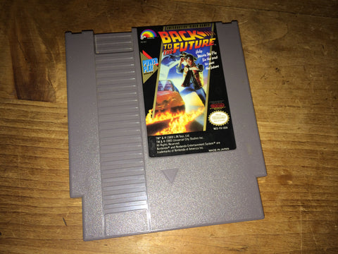 Back to the Future (NTSC NES)
