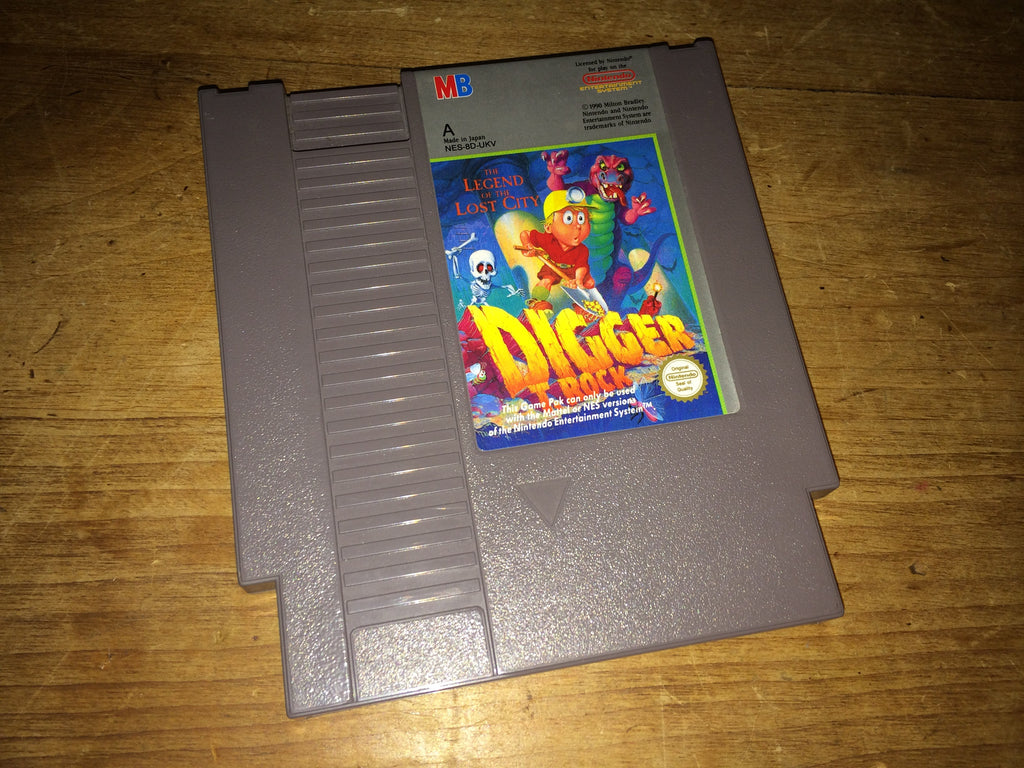 Digger T. Rock: Legend of the Lost City (NES)