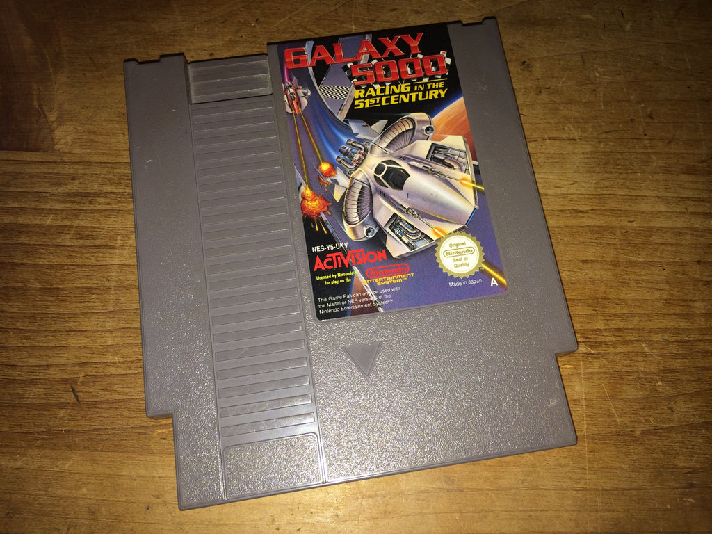 Galaxy 5000: Racing in the 51st Century (NES)
