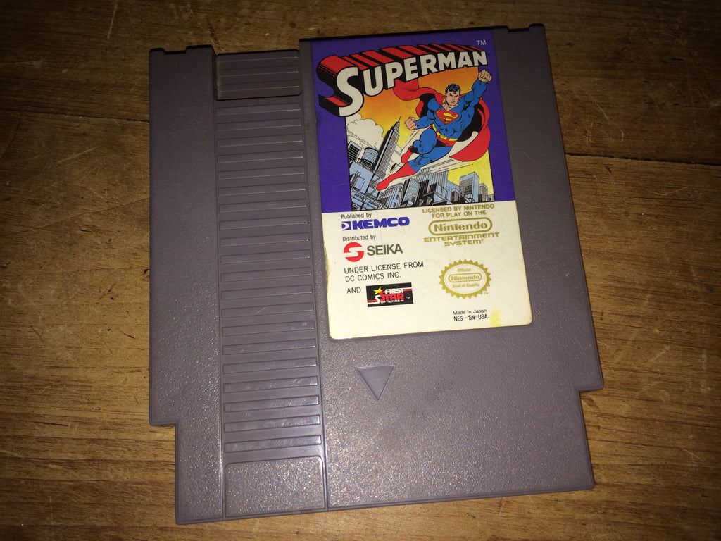 Superman (NES) NTSC
