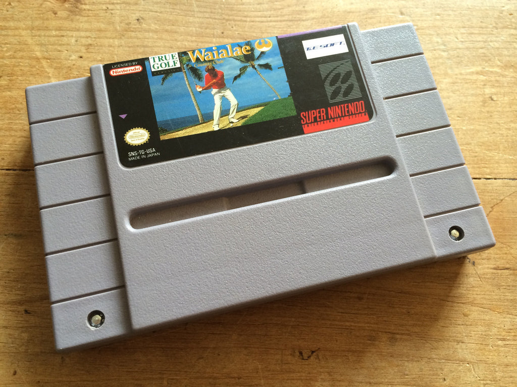 True Golf Classics: Waialae Country Club (NTSC SNES)