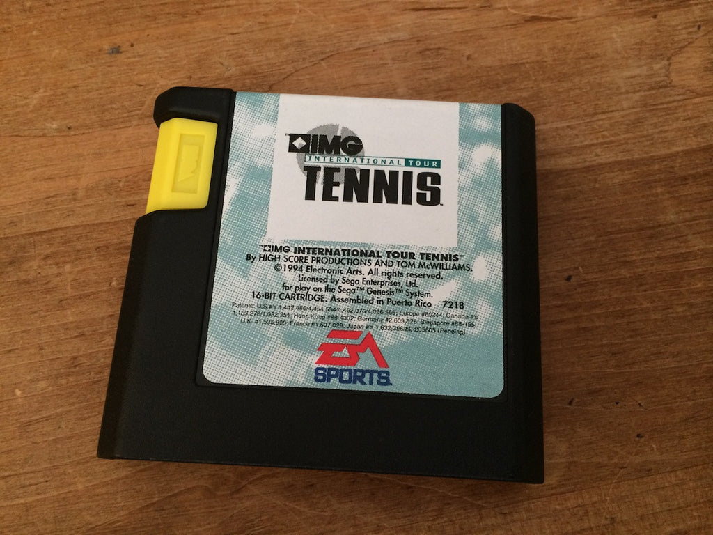 IMG International Tour Tennis (Mega Drive)