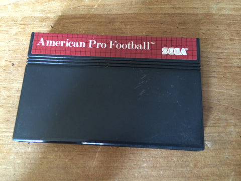 American Pro Football (Master System)