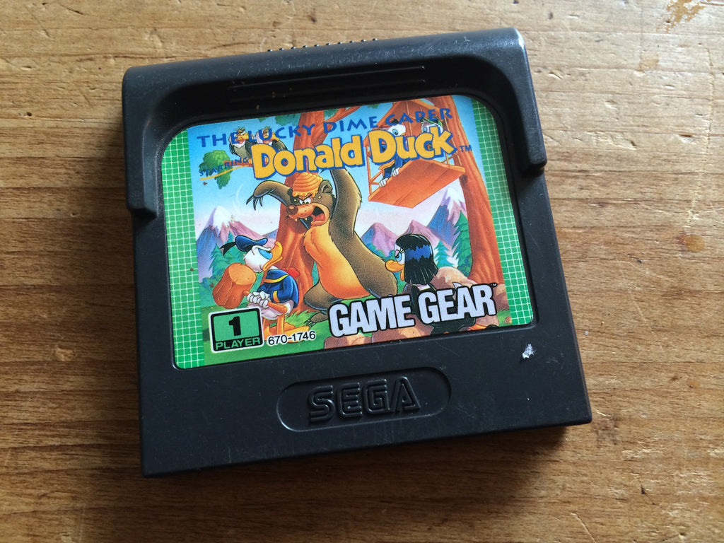 Donald Duck: The Lucky Dime Caper (Game Gear)