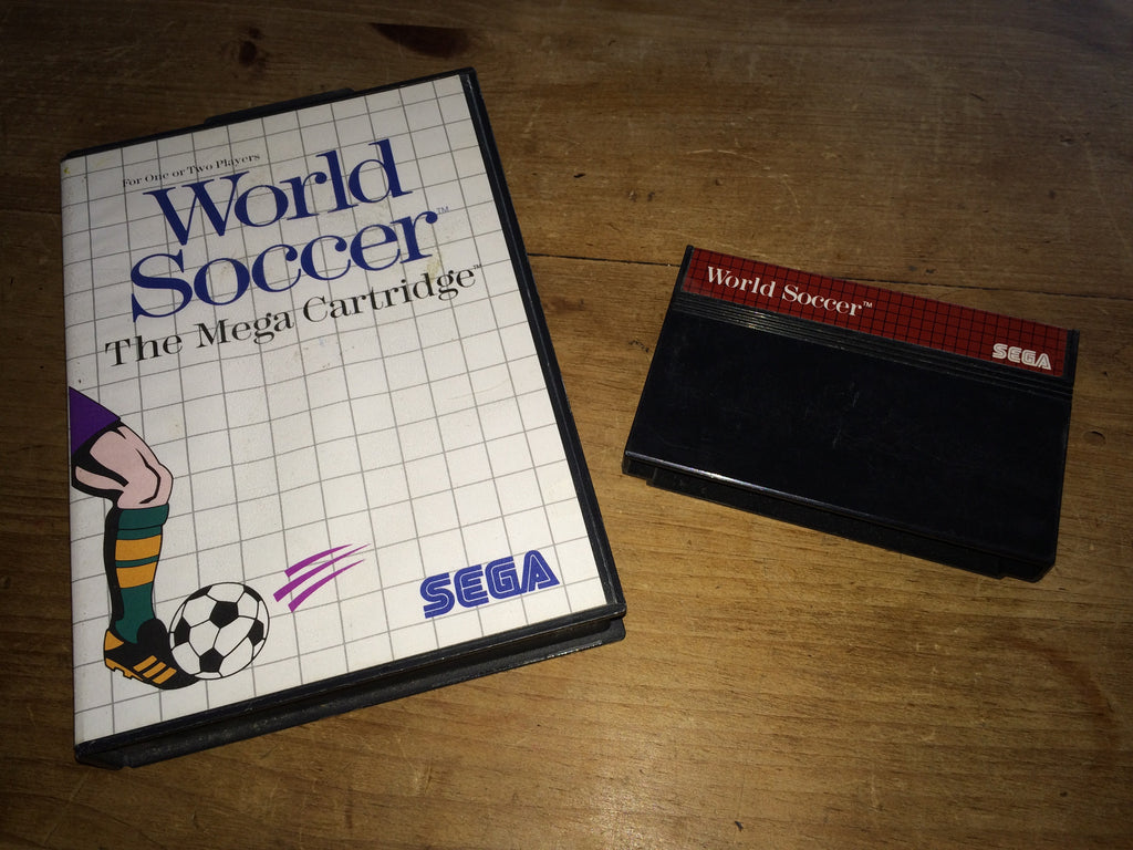 World Soccer: The Mega Cartridge (Master System)