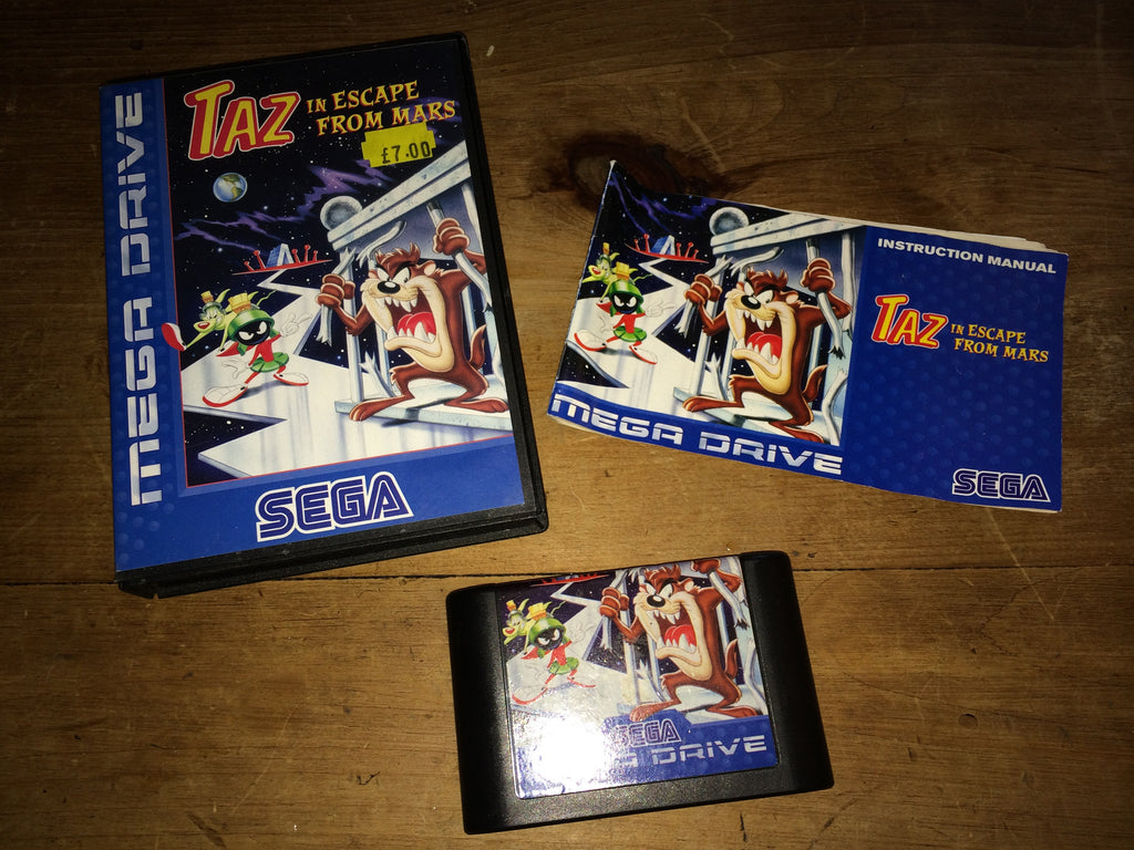 Taz in Escape From Mars (Mega Drive)