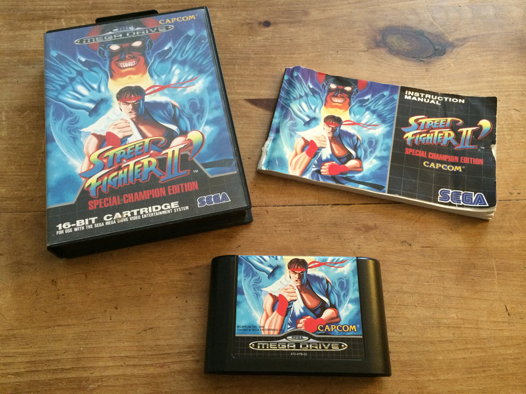 Street Fighter 2 (Mega Drive)