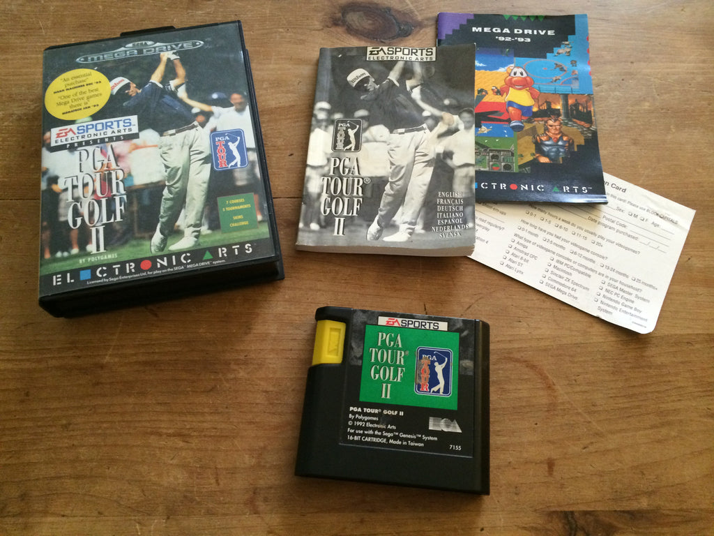 PGA Golf Tour II (2) (Mega Drive)