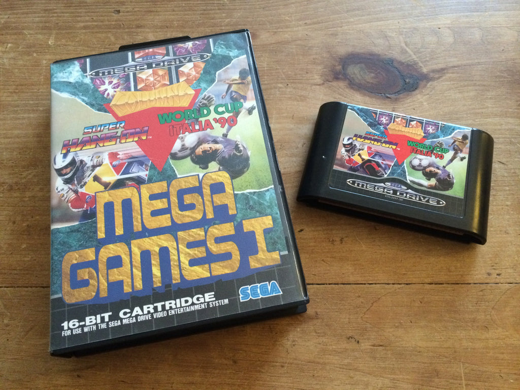 Mega Games 1 featuring Super Hang On, Columns & World Cup Italia '90 (Mega Drive)