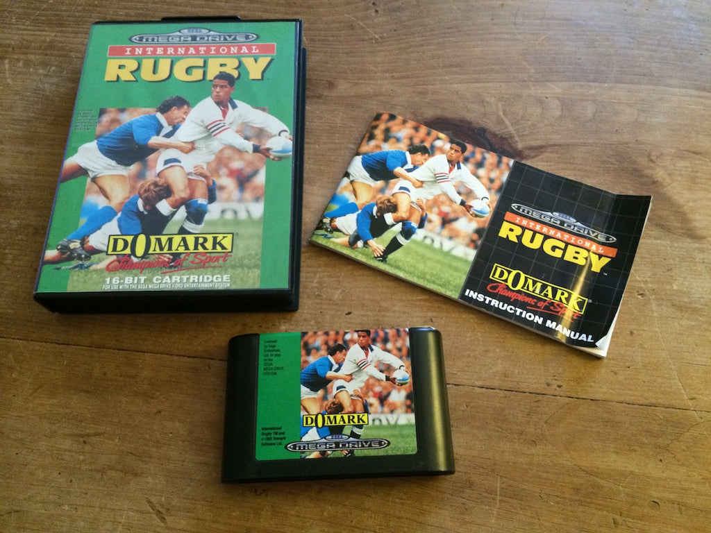 International Rugby (Mega Drive)