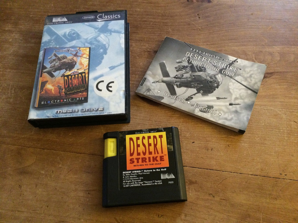 Desert Strike: Return To The Gulf (Mega Drive)