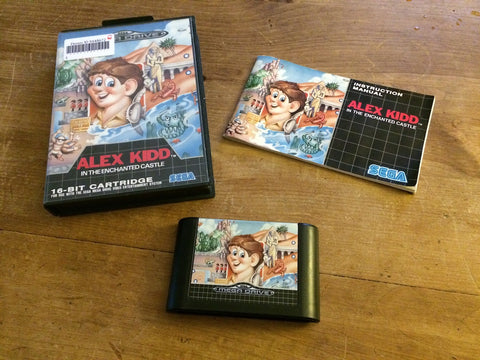 Alex Kidd in The Enchanted Castle (Mega Drive)