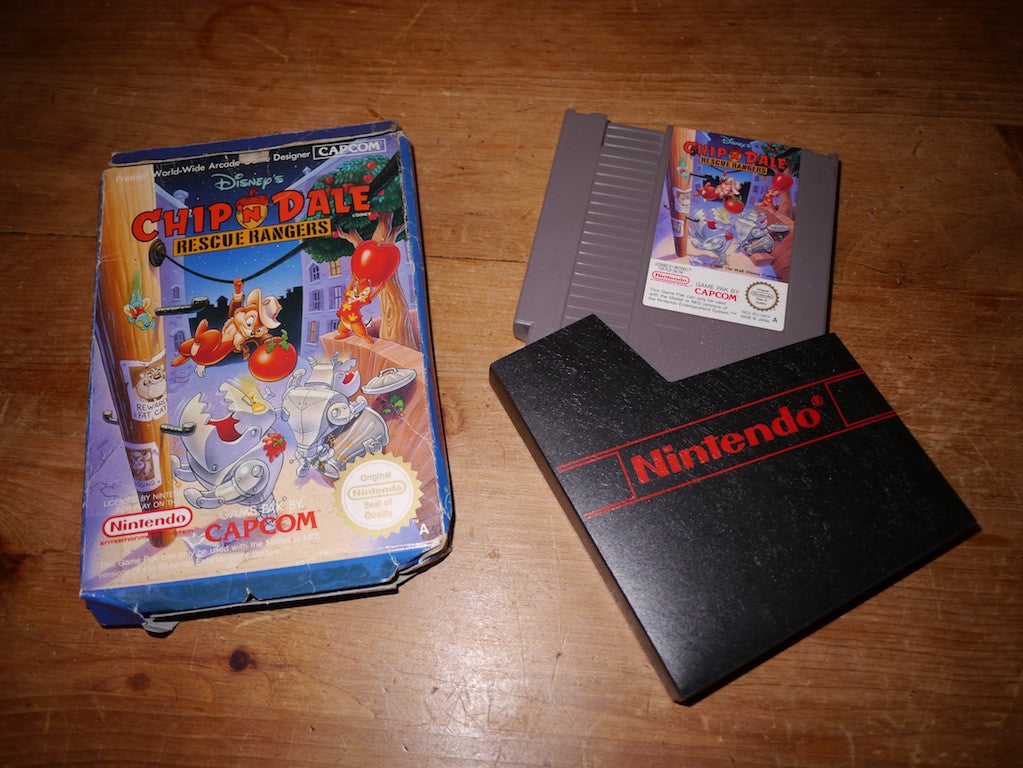 Chip 'n Dale Rescue Rangers (NES)