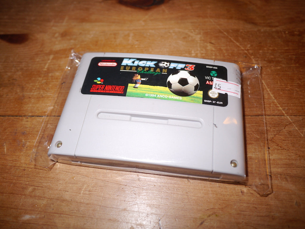 Kick Off 3 European Challenge (SNES)