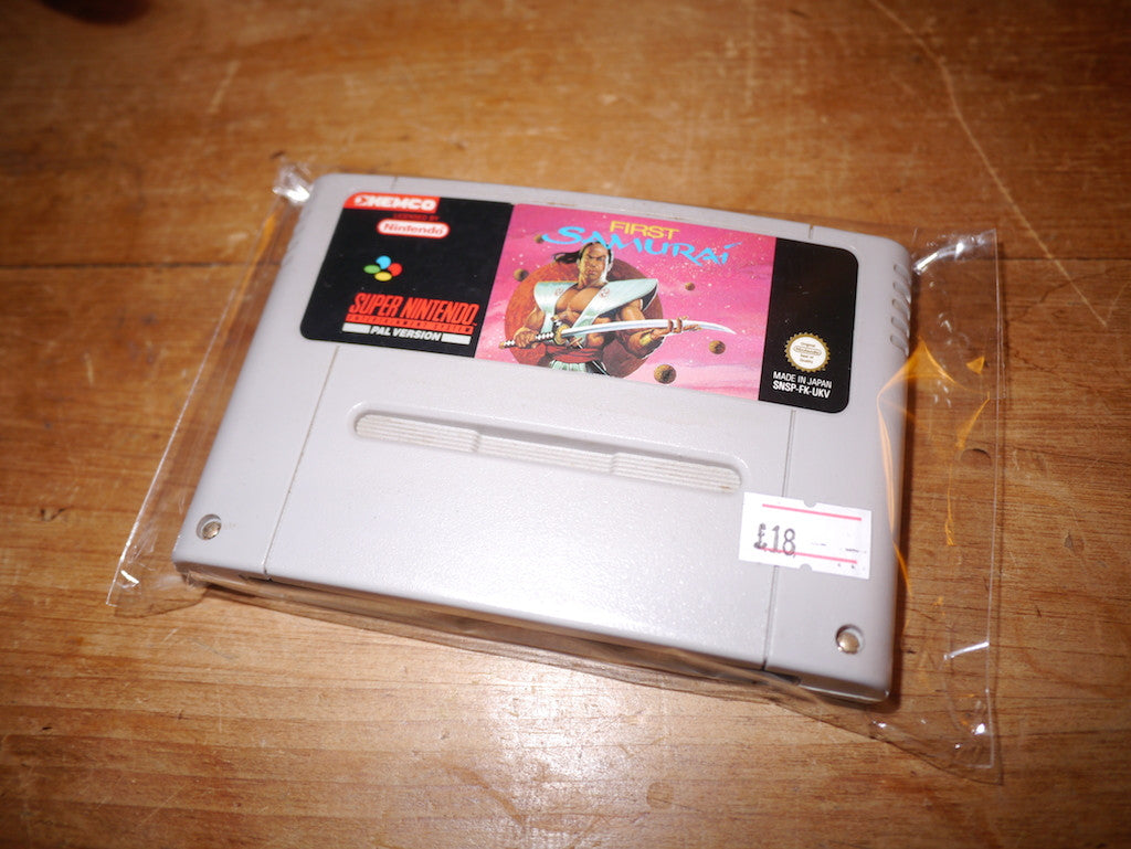 First Samurai (SNES)