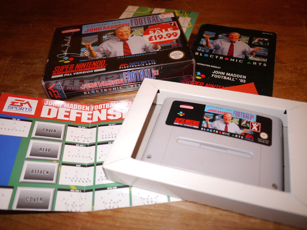 John Madden Football '93 (SNES)