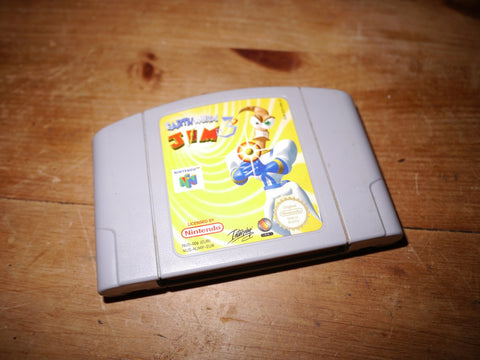 Earthworm Jim 3D (N64)